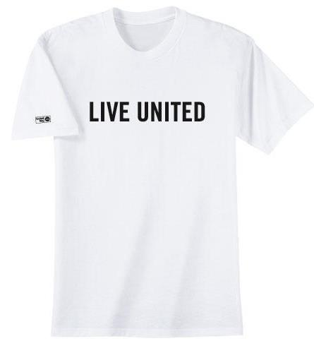 436d1c92 United Way gear is here! Show your United Way pride and purchase our  classic black or white LIVE UNITED t-shirt. We also have a long and short  sleeve gray ...